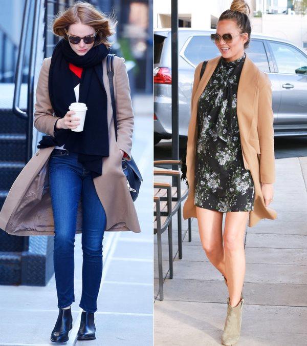 Mini elbiselerle ve kot pantolonlarla ankle botları giymeniz modacıların bir numaralı önerisi.