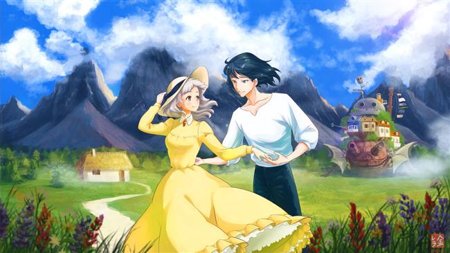 Hauru no ugoku shiro – Howl's Moving Castle (2004)  Anime dünyasının en iyi örneklerinde imzası bulunan Hayao Miyazaki'nin 2004 yapımı filmi Howl's Moving Castle, Diana Wynne Jones'un kaleme aldığı romandan uyarlanmıştır. Fakir bir genç kız olan Sophie, şapka dikerek geçimini sağlamaktadır. Bir gün kız kardeşinin evine giderken Howl adında bir büyücüyle karşılaşan Sophie'nin hayatı o saatten sonra eskisi gibi olmayacaktır. Howl'ı takip etmekte olan kötü bir cadı Sophie'nin şapkacı dükkanına gelerek onu lanetler ve Sophie ihtiyar bir kadına dönüşür. Howl'ın Sophie'yi yürüyen şatosunda himaye etmeye başlamasıyla birlikle Howl ile Sophie arasında laneti bozmak adına bir ittifak çoktan yapılmıştır.  Kaynak:FilmLoverss