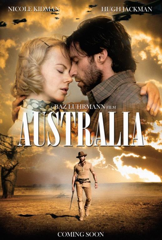 Avustralya - Australia     Film, 2. Dünya Savaşı öncesinde, kendisine kocasından bir sığır çiftliği miras kalan ve bunun için kuzey Avustralya'ya giden İngiliz aristokratı Lady Sarah Ashley çevresinde gelişiyor. İngiliz sığır baronları, arsasını almak isteyince; kaba sığır sürücüsü ile kerhen de olsa çalışmak zorunda kalır. Çünkü 2000 baş sığırı sadece birkaç ay önce Pearl Harbor baskınının yapıldığı topraklardan yüzlerce mil geçirmek için ona ihtiyacı vardır. Yolculuk sürecinde adama aşık olur. Ayrıca Avustralya'ya da hayran kalır ve kendisi için yeni bir hayatın başladığının farkına varır.