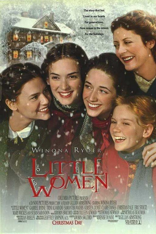 Küçük Kadınlar - Little Women    Başrollerinde Susan Sarandon ve Claire Danes'in yer aldığı filmde, babaları iç savaşta çarpışırken anneleri tarafından zor şartlarda büyütülen Joe, Meg, Beth ve Amy March'ın öyküsü, aynı zamanda kimsenin bozamayacağı güçlü bir bağın duygu dolu hikayesi anlatılıyor. Film izlerken gözyaşı dökmekten hoşlanan duygusal film hayranları için kaçırılmaması gereken bir dram.