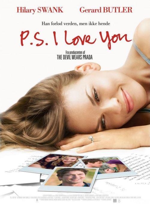 P.S. I Love You (Not: Seni Seviyorum) (2007):  Bir kadın için, sevdiği adama bütünüyle teslim olmuş ve bütün hayatının anlamını onun üzerine kurmuş hatta onunla nefes alırken, adamın bir hastalık nedeni ile çekip gidecek olması kolay kaldırabileceği bir şey değildir. Holly, kocasına aşıktır ve bir gün Gery ölümcül bir hastalığının olduğunu öğrenir. Tek istediği kendisinden sonra Holly için hayatı kolaylaştırmaktır artık. Bu vesile ile ölmeden önce bir sürü mektup yazar karısına. İşte bu mektuplar sayesinde Holly yeniden hayata tutunmayı öğrenecektir.