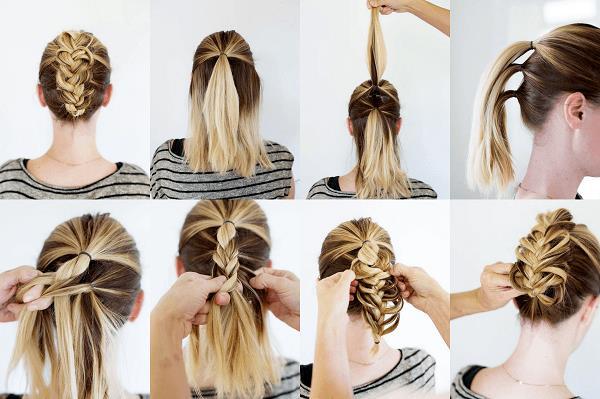 Sevgililer Günü'nde kullanabileceğiniz bir diğer saç modeli de örgülü modellerdir. Eğer saçlarınız orta uzunlukta ise aşağıdaki örgülü saç modellerini deneyebilirsiniz.   Bitmeyen Saç Modası Örgüler!