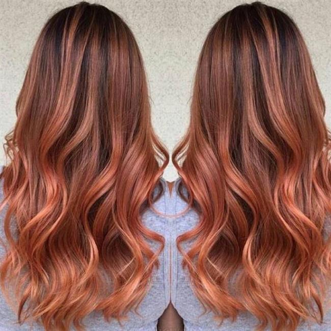Alışıla gelmişin dışında oldukça cool duran bu saç rengi size farklı bir hava katacaktır.