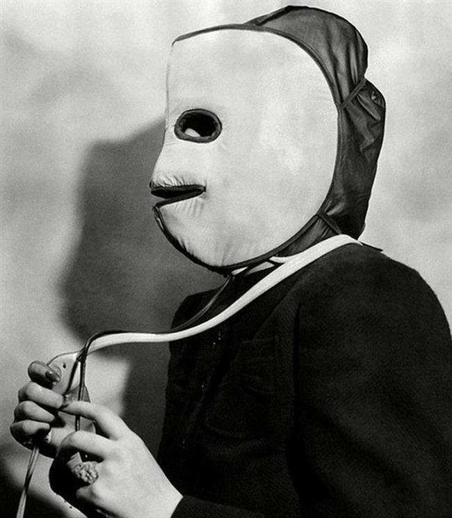3-Isıtıcı Yüz Maskesi  1940'larda kadınlar daha genç görünümlü bir cilde kavuşmak için bu maskeyi kullanıyordu. Ancak ne kadar işe yarayan bir yöntem olduğu tam bir muamma.