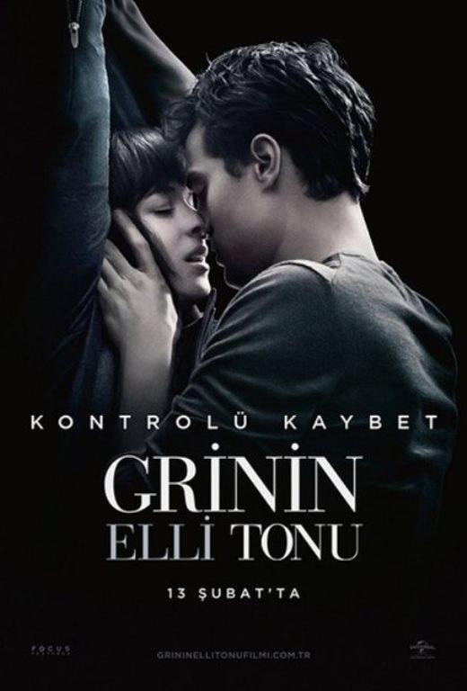 Grinin Elli Tonu - ( Fifty Shades of Grey)  Bir edebiyat öğrencisi olan güzel Anastasia Steele, çekici ve zengin bir iş adamı olan Christian Grey ile bir röportaj gerçekleştirir. Görüşmeye gittiğinde karşısında, tavırları ve çekiciliği ile baş döndüren bir adam bulur.   Aşk ve ilişkiye biraz mesafeli duran Anastasia, bu zengin ve yakışıklı adamın cazibesine karşı koyamaz ve kendisini çekimine bırakır. Fakat hayatta her şeye karşı doyum noktasına ulaşmış olan Grey'in ilişki ve seks söz konusu olunca kimsenin bilmediği gizli sırları vardır. Genç kız karşısındaki adamla şehvetin bilmediği yollarına da sapacak mıdır?