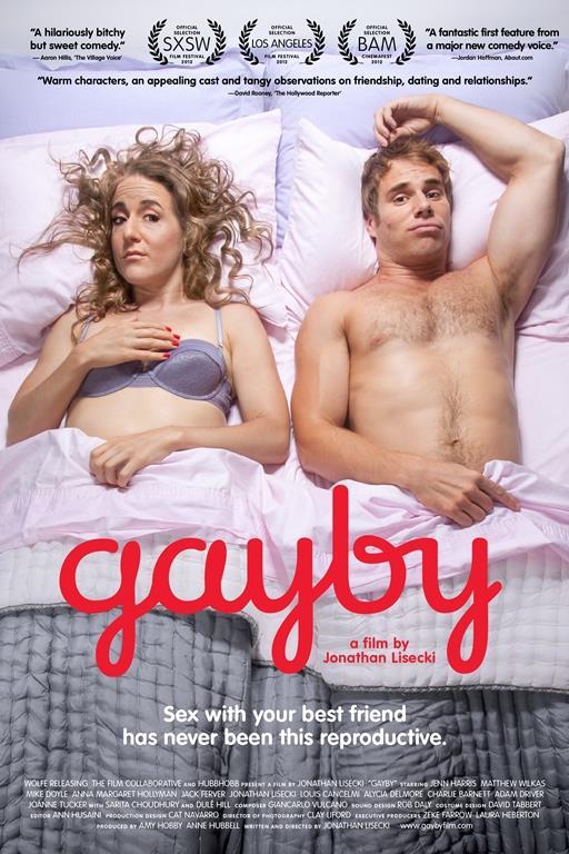 Gayby   Gayby filmi değişik konulu ve güzel bir komedi. Jenn ve Matt okuldan bu güne çok iyi arkadaşlardır. Yaşları ilerlemiş ve 30 gelmiştir ama onlar hala bekarlardır. Bunlar birbirine birlikte bir çocuk sahibi olmaya söz vermiştirler ama bakalım bunu gerçekleştirebileceklermidir.