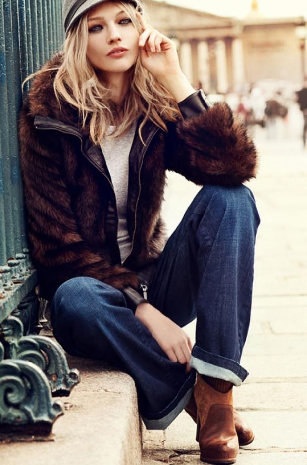 Kışın en sıcak rengi taba ile içiniz ısınırken stiliniz öne çıksın...