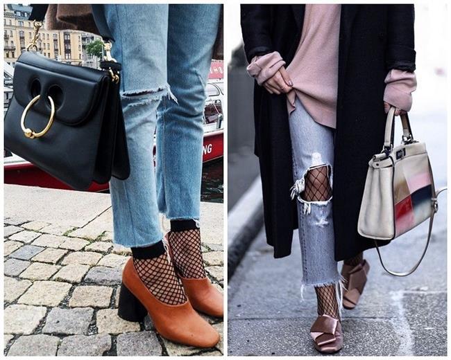 Yılların vazgeçilmez fileli çorap trendi, son yıllara damgasını vuruyor.