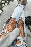 En Yeni Trend: File Çorap - 18