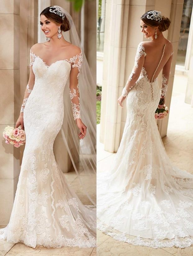 Düğün gününüzde tüm dikkatleri çekmek istiyorsanız, transparan gelinlik modelleri ilk tercihiniz olmalı.