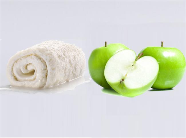 KIRIŞIKLARA KARŞI MASKE  Malzemeler:Kaymak + Elma   Hazırlanışı:  Bu maskeyi hazırlamak için soyulmuş bir elma ve üç kaşık kaymağı mikserle bir kaç dakika karıştırmanız yeterli. Karışımı cildinize yaydıktan sonra temiz bir bezle yüzünüzü kapatın. Yaklaşık on dakika bekledikten sonra maskeyi silin ve yüzünüzü ılık suyla temizleyin.