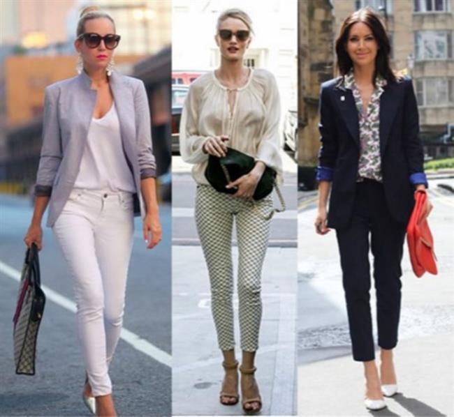 Vücuda yapışan kısa paçalı pantolonlarla kombinleyeceğiniz tunikler bacaklarınızı daha uzun gösterecek ve trend bir görünüme kavuşacaksınız.Stil sahibi bir görünüm yakalamak için uygun bir diğer kombin de kısa paçalı pantolonlarınızla minik bluzları kombinlemektir. Minik bluzunuzu pantolonunuzun beline sıkıştırın ve üzerine hoş bir blazer alın.
