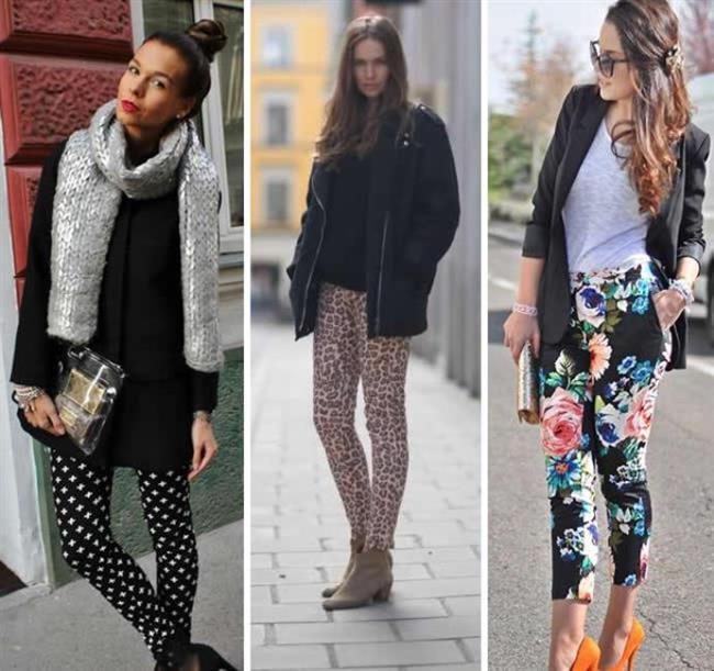 Desenli Pantolon   Uzunca bir süre boyunca düz renk pantolonlara mahkum kaldık. Ama son birkaç yıldır desenli pantolonların hakimiyeti azımsanacak gibi değil. Desenli pantolon giymenin en birincil kuralı desen renklerinden birini seçmek ve bu renkten bir üst parçayı kullanmaktır. Desenli-desenli kombinasyonu da yapmanız mümkün ama oldukça riskli olduğunu söyleyebiliriz.
