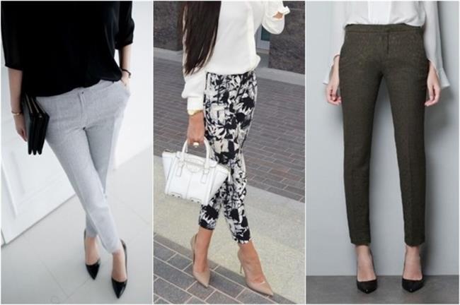 Sigaret Pantolonlar   Genelde plaza kadınlarının tercih ettiği sigaret pantolonlar sadece plaza kadınlarına has parçalar değil elbette. Zarif bir seçim olan sigaret pantolonlar size hem rahatlık hem klas bir görünüm sunuyor.