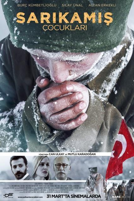 Sarıkamış Çocukları  1915 yılında aynı köyde iki arkadaş olan Mehmet ve Yusuf babaları Sarıkamış'ta çeteciler tarafından öldürülür. İki çocuğun abisi ise Sarıkamış cephesinde savaştadır. Bir yolunu bulup abilerinin yanına cepheye gitmeye kararlı olan Mehmet ve Yusuf yaşadıkları köyden bir grup mehmetçiğin de cepheye gönderileceğini öğrenince bu kafileyle beraber yola çıkıp cepheye ulaşmaya karar verirler.  Vizyon Tarihi: 31 Mart 2017