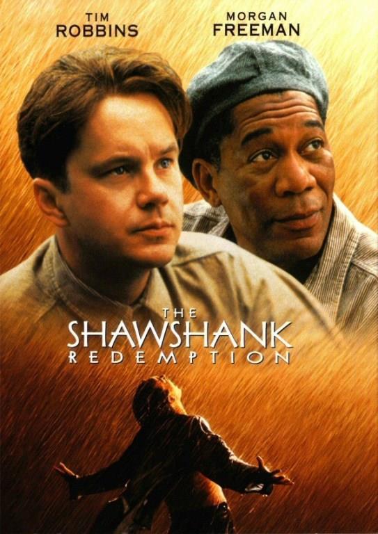 ESARETİN BEDELİ (The Shawshank Redemption):    Andy Dufresne, genç ve başarılı bir bankerdir. Karısını ve karısının sevgilisini öldürmek suçundan yargılanır ve ömür boyu hapis cezası alır. Shawsank Hapishanesi'nde dayak, işkence, tecavüz, her türlü durum yaşanmaktadır fakat Andy gene de hayata bağlı ve iyimserdir. Bu tutumu etrafındakileri de etkiler. Andy umutlu bakış açısıyla çevresindeki tüm mahkumları, parmaklıklar arkasında bile özgür bir yaşam olabileceğine inandırır. Andy'nin bu çabalarına ortak olacak bir arkadaşı da olacaktır: Red. Bir Stephen King uyarlaması olan filmde Morgan Freeman ve Tim Robbins başrolde. Film, 1995'te, aralarında en iyi film adaylığı da olmak üzere tam 7 dalda Oscar'a aday gösterildi.