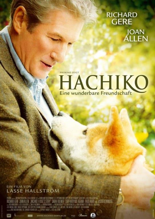 HACHİKO:    Profesör Parker Wilson (Richard Gere) tren istasyonunda terk edilmiş bir köpek bulur. Köpeğin bir sahibi yoktur. Profesör, Hachiko adlı bu şirin köpeği koruması altına alır ve evine götürür. Zaman içinde ikili arasında benzersiz bir dostluk kurulur.