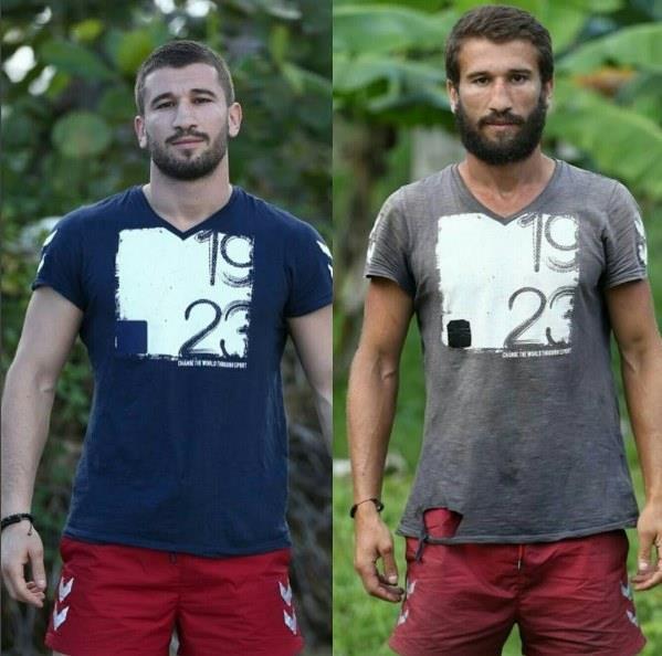 Survivor'da yarışan isimler gün geçtikte kilo kaybetmeye ve bronzlaşmaya devam ediyor...  İşte Survivor yarışmacılarının öncesi ve sonrası...  Adem Kılıççı
