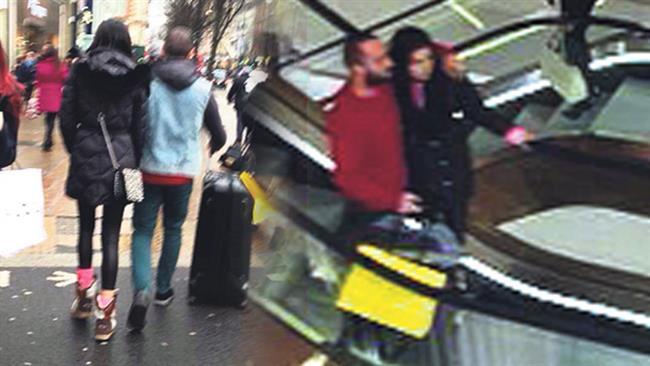 Ardından, Berkay ile Atalay Londra'da el ele görüntülendi.
