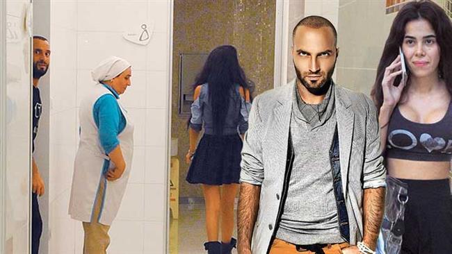 Caner Erkin'le evli olduğu dönemde Asena Atalay, bir alışveriş merkezinin bebek odasından şarkıcı Berkay ile çıkarken görüntülenmişti.