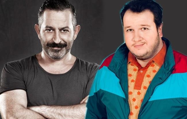 Cem Yılmaz-Şahan Gökbakar  Türk sinemasının komik ikilisi Cem Yılmaz ve Şahan Gökbakar aynı kulvarlarda yarışmalarının azizliğine uğrayarak birbirlerine yaptıkları iş hakkında laf söylemekten çekinmiyorlar.