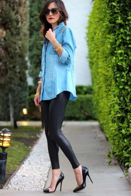 Uzun gömlek, fular ve çizmelerle rahat bir görünüm yakalayabilirsiniz.