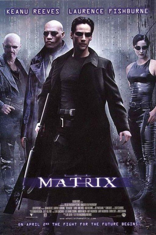 MATRİX    Bir yaşanan gerçek vardır, bir de yaşananın ötesinde olan gerçeklik... Biri rüya, diğeri ise Matrix! Neo,son derece tehlikeli bir adam olan Morpheus'un gerçeği bildiğine inanmaktadır. Bir gece Neo, kendisini başka bir dünyaya götürebilecek güzel yabancı Trinity ile tanışır. Bu kızın götüreceği dünyada, Neo Morpheus'u bulacak ve Matrix hakkında bir şeyler öğrenecektir. Neo, Tam olarak kavrayamadığı şeylerin yaşamını kontrol ettiğini biliyor.. Nedir bu Matrix?