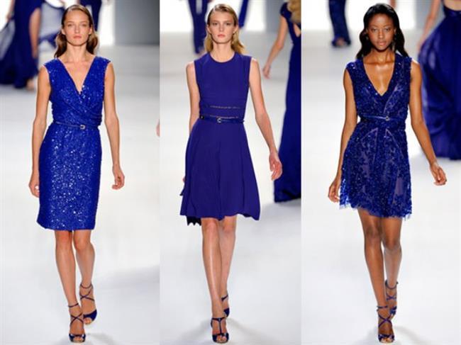 Lapis Mavisi  Mavi renginin en koyu tonu olan lapis mavisi bu sezon ünlü markaların en çok kullandığı renk.