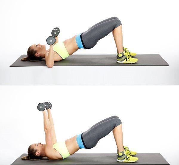 Ağırlık kaldırmak  Günlük olarak ağırlık kaldırmada gögüslerin sarkmasına engel olduğu gibi sıkılaşmasına ve dikleşmesine de yardımcı olur. Bu konuda en iyi egzersiz için sırt üstü yatın. her iki elinize de ağırlık alın. ellerinizi ağırlıklarla birlikte havaya göğsünüzün hizasına kaldırın.