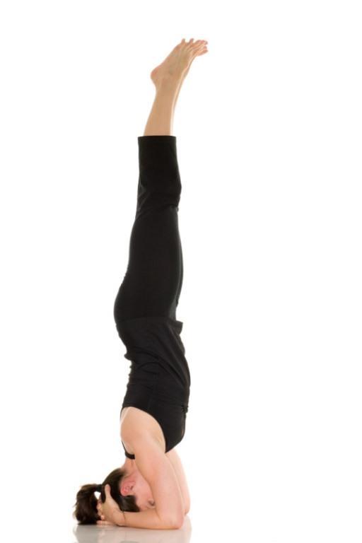 Desteklenen Başlık Hareketi  Omurga  ve göğüs kasları için güçlendiricidir. Bu kasların güçlenmesi ile göğüsleriniz dik bir konum alacaktır. Nefes alma ve kan akışını düzene sokar. Deneyimli kişiler için tavsiye edilir. Eğer yeni başlıyorsanız bu hareketi yapmak zorunda değilsiniz.  Yapılışı  Dizlerinizin üzerinde durun ve kollarınızı yere koyun. Bir kase oluşturmak için parmaklarınızı birbirine yapıştırın. Başınızın üstünü bir paspasa koyun, böylece başınızın arkası kase içine gelecektir. Dizlerinizi bükün,nefesinizi çekin ve ayaklarınızı yere indirin. Bacaklarınızı yukarı doğru sıkın yeteneklerinize göre 30 saniye ile 2 dakika arasına böyle kalın. Bu hareketi 7 kere tekrarlayın.