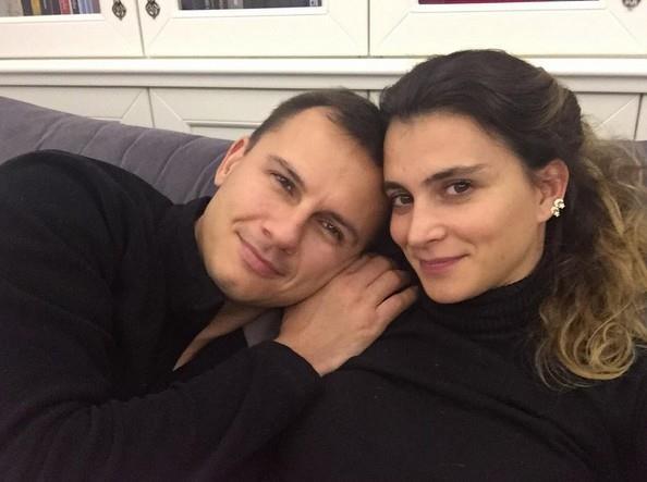 Pınar Saka ve Eşi Alpay Başaran