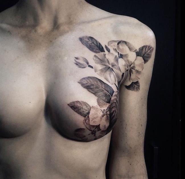 Birbirinden Güzel Çiçek Dövmeleri  Önerileri - 16
