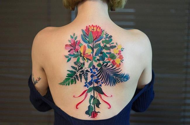 Birbirinden Güzel Çiçek Dövmeleri  Önerileri - 30