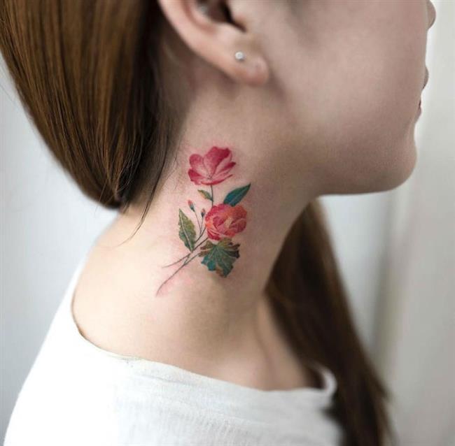 Birbirinden Güzel Çiçek Dövmeleri  Önerileri - 34