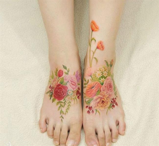 Birbirinden Güzel Çiçek Dövmeleri  Önerileri - 40