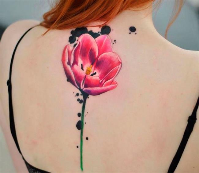 Birbirinden Güzel Çiçek Dövmeleri  Önerileri - 43