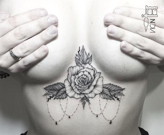 Birbirinden Güzel Çiçek Dövmeleri  Önerileri - 60