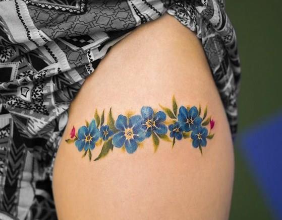 Birbirinden Güzel Çiçek Dövmeleri  Önerileri - 67