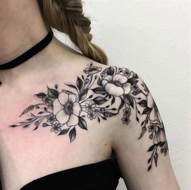 Birbirinden Güzel Çiçek Dövmeleri  Önerileri - 69