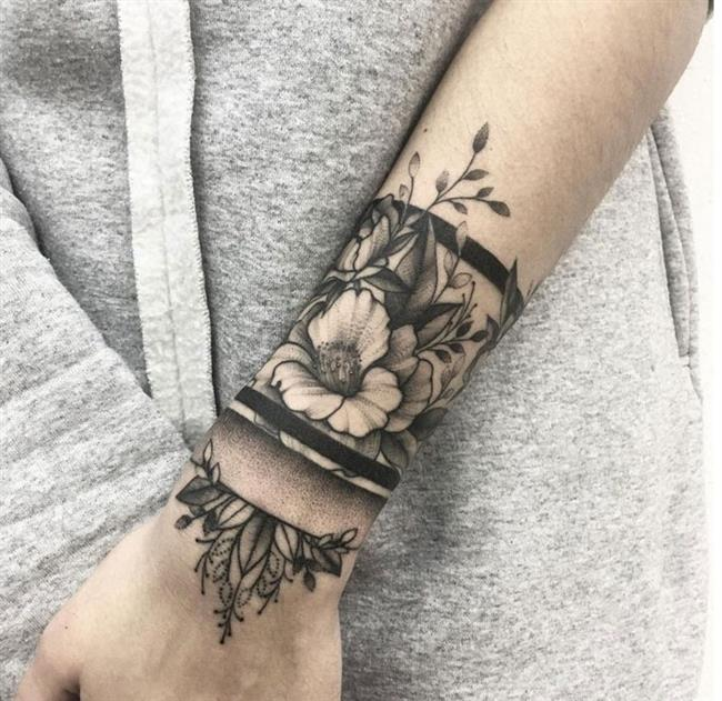 Birbirinden Güzel Çiçek Dövmeleri  Önerileri - 70