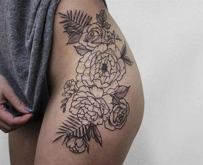 Birbirinden Güzel Çiçek Dövmeleri  Önerileri - 82