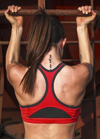 Barfiks  Sırt çeşitli kaslardan meydana geliyor, barfiks ise bunların hepsini aynı anda çalıştırmayı sağlayan tek egzersiz. Avuçlarınız size dönük olduğu şekilde barfiks çekmek daha kolay, ama bu pozisyonda üst kol kaslarınızı biraz daha zorlayabilirsiniz.