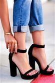 Blok Topuklu Ayakkabılar Nasıl Kombinlenir? - 10