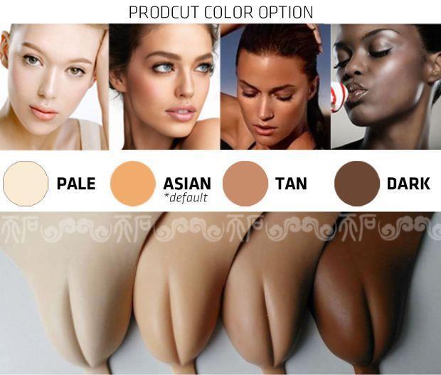 Başta sadece protez şekilde satılmaya başlayan bu ürünler, ten rengine göre de çeşitleniyor. Önceleri satın alıp külodunuzun önüne takıyordunuz, şimdi artık direkt külodunu giyebiliyorsunuz.