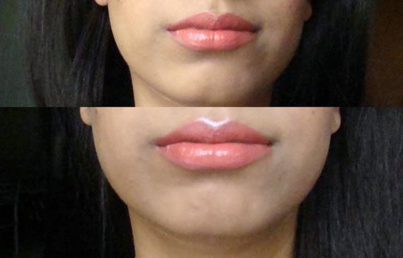 Üst dudak kısmı: Üst dudaklarının ortasında bulunan ufak şeklindeki alana aydınlatıcı sürersen dudakların olduğundan daha dolgun görünecektir.