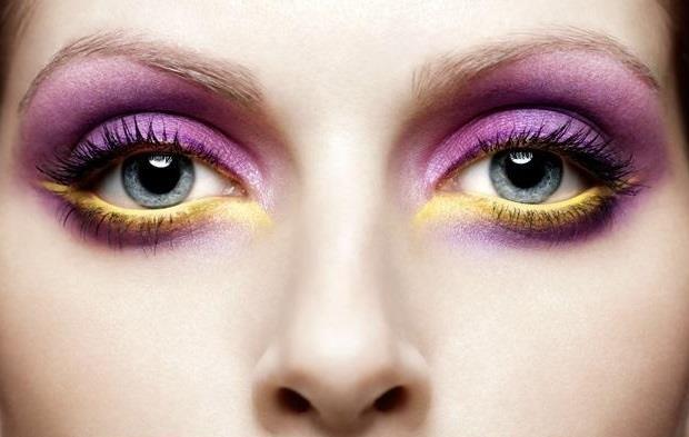 Gözleri bu sezon ön planda tutmak için göz kapaklarına eflatun parıltılar uygulamak en doğru tercihlerden biri olabilir.