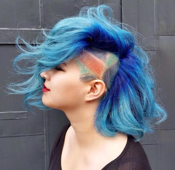 Yeni Trend: Graffiti Saç - 11