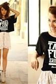 2017 İlkbahar Trendi: Sloganlı Tişörtler - 11