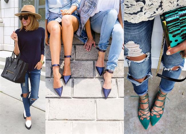Babet ayakkabı modelleri İlkbahar ve Sonbahar aylarının en vazgeçilmez parçalarındandır.