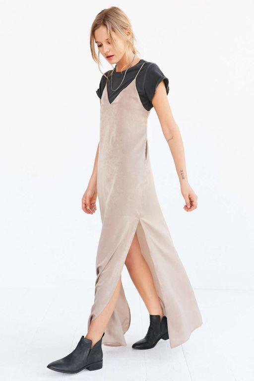 İşte birbirinden güzel slip elbise kombinleri...